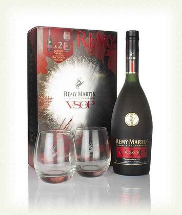 Remy Martin Cognac VSOP Glass Pack 700ml