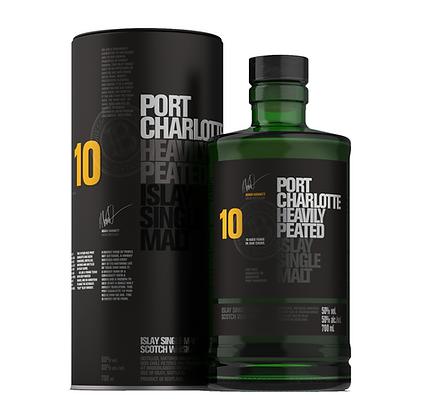 Bruichladdich Port Charlotte 10 Year Old Whisky 700ml