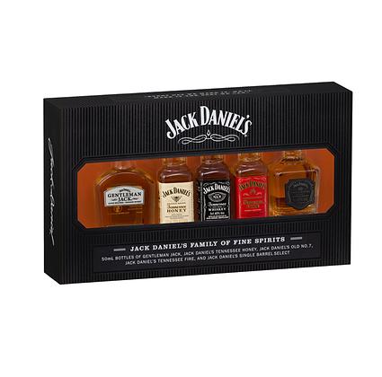 Jack Daniel Family Gift Pack 5 x 50ml