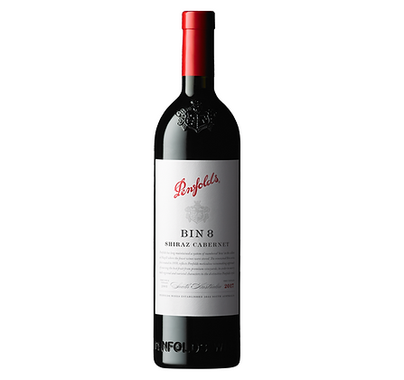 Penfolds Bin 8 Cabernet Shiraz 2017 750ml