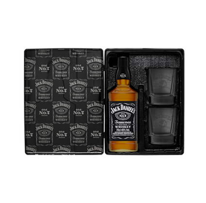 Jack Daniel & 2 Glass Pack 700ml
