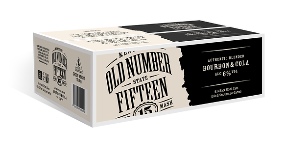Old Number 15 Bourbon & Cola 6%  24x375ml
