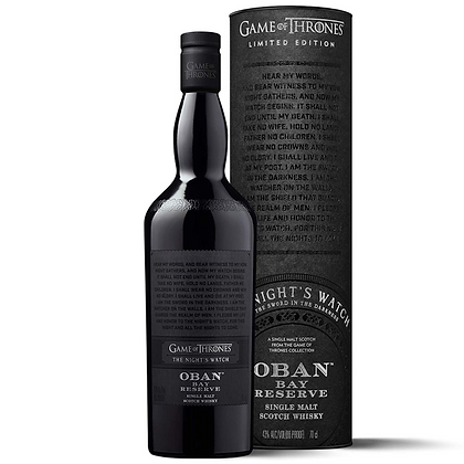 Oban Bay Reserve Game of Thrones 700ml