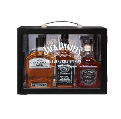 Jack Daniel Family Glass Case 3 x 700ml