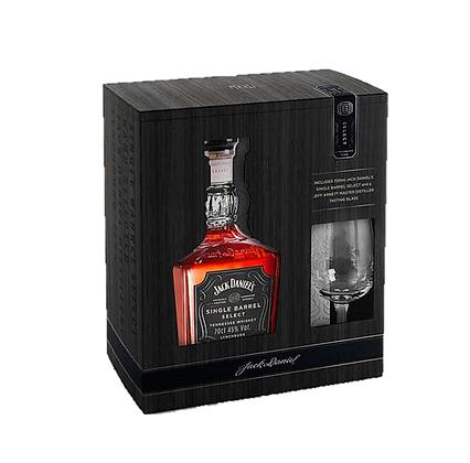 Jack Daniel Single Barrel Gift Pack 700ml