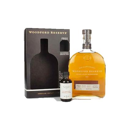 Woodford Reserve w/ Syrup Gift Pack 700ml