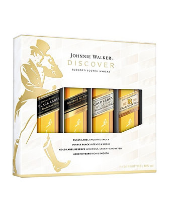 Johnnie Walker Discovery Gift Pack 4x50ml