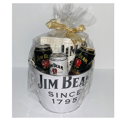 Jim Beam Cans Gift Bucket