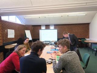 Communications Team Training Sussex Students' Union