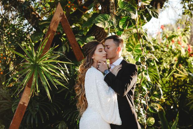 modern bridal shootout