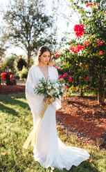lush floral bridal