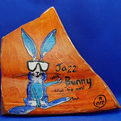 Jazz Bunny says - Be cool
