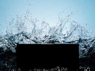 Brandung an Wellenbrecher, Sea surf at breakwater, schenck-fotografie, Marcus Schenck Fotograf, Berlin Kreuzberg