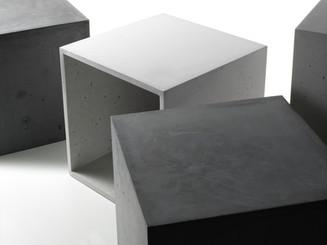 Foto Beton Möbel, Foto Beton Quader, concrete furniture