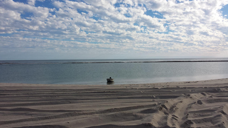 Lucky bay beach
