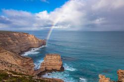 Rainbow over Castle Rock