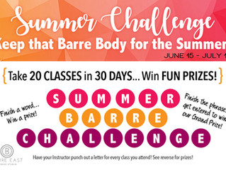Summer at the Barre