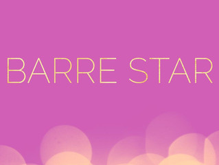 Barre Star of the Month - May