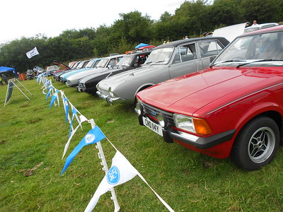 Roadford Rally at Roadford Lake Nr Launceston Organised by Classic Fords Southwest
