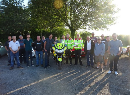 Cornwall Blood Bikes at Duchy Meet - 1st July 2019