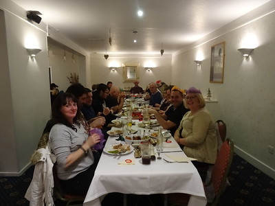 Christmas Meal - Saturday 9th December 2017