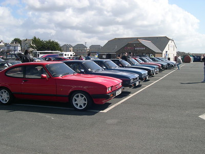 Duchy Capri Club Season Premiere Car Run - Sunday 9th April 2006