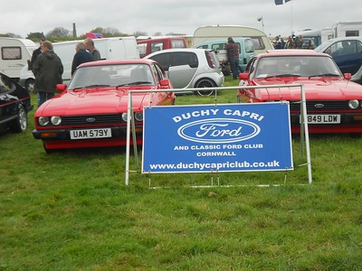 Classic & Vintage rally at Killifreth Hill Chacewater - Saturday 9th & Sunday 10th May 2015