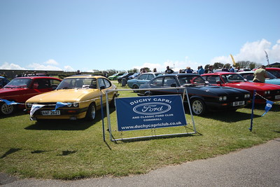 Duchy Capri & Classic Ford Club's Classic Ford Show at Holywell Bay Fun Park Newquay Sunday 22nd May