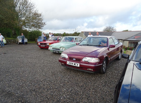 End Of Season Classic Ford Run - Truro - St Mawes - Falmouth - Helston - Sunday 22nd September 2019