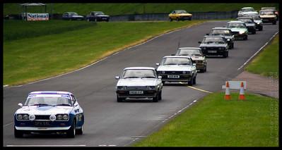 Ford Capri Club 40th Anniversary Celebration at Castle Combe Race Track, Wiltshire
