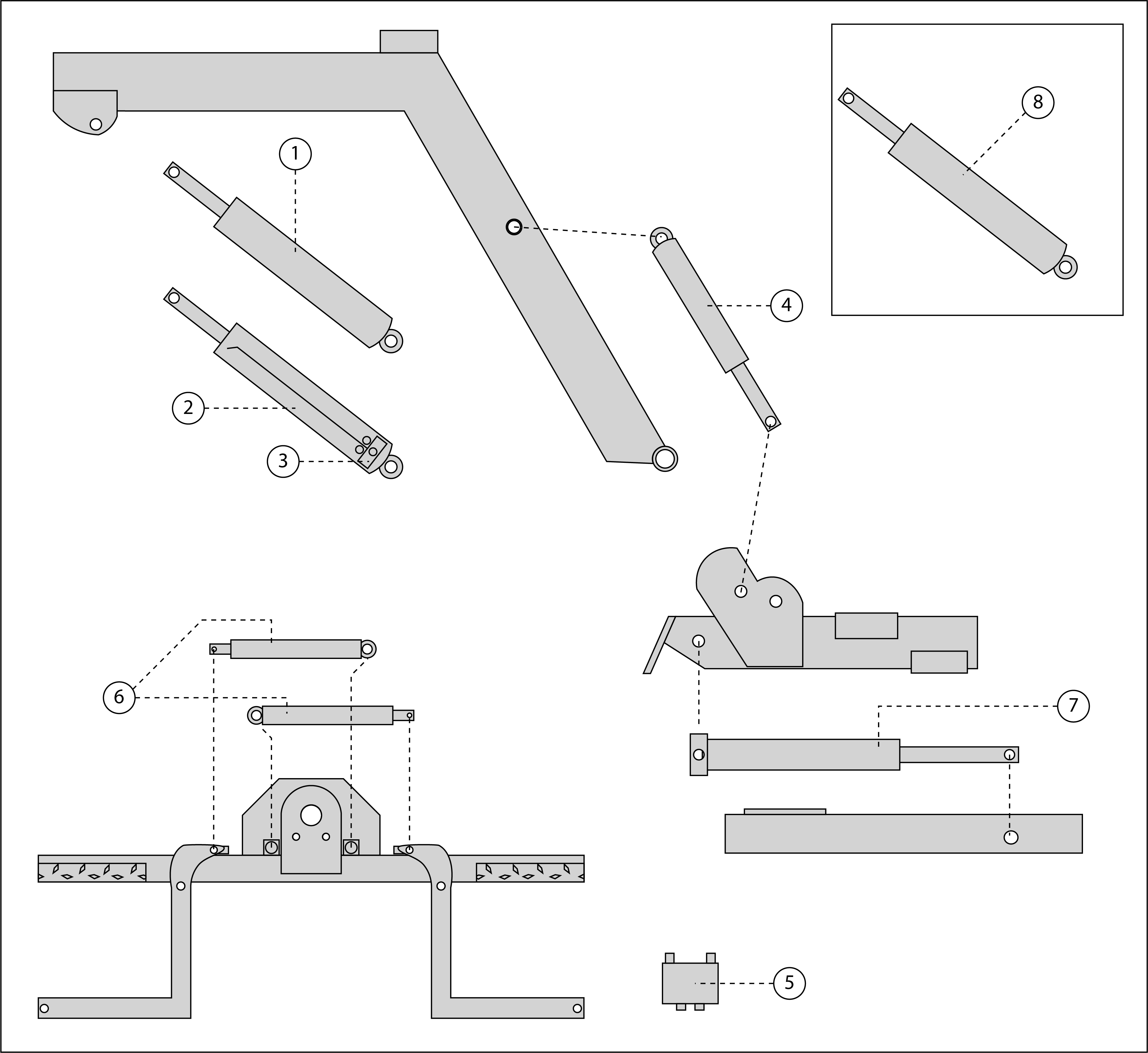 Try These Cross Hydraulic Cylinder Parts Diagram {Mahindra