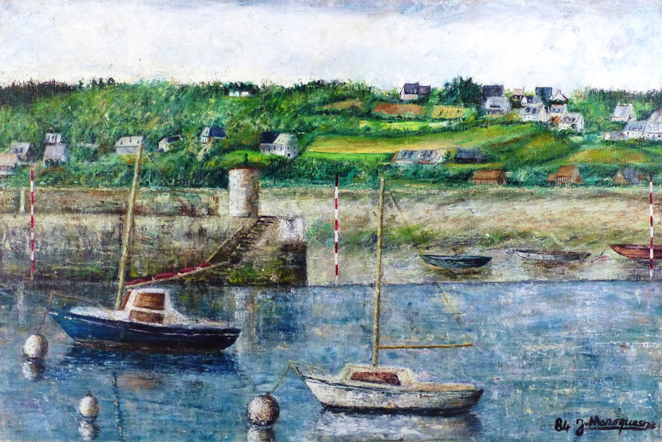 The Port of Perros-Guirec (Brittany, France)