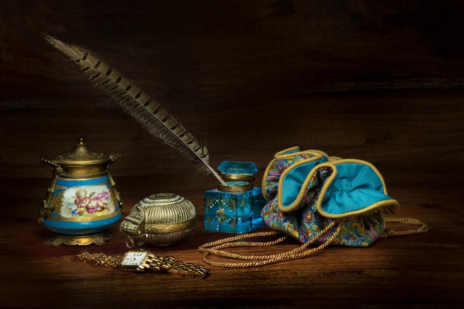 Turquoise Study by Sheila Haycox
