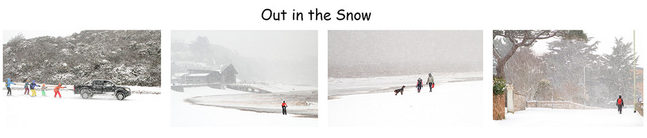 3rd Colour Print - Out in the Snow by Peter Hyett