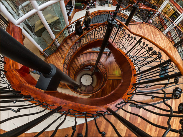 Different Perspectives  Spiraling Down by Ian Bateman 3rd