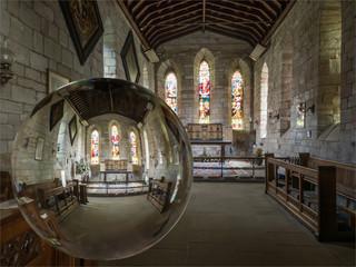 H/C - Holy Island Church by Jenny Baker