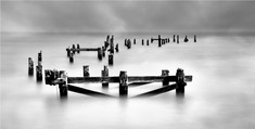 Swanage Old Pier by Peter Hyett