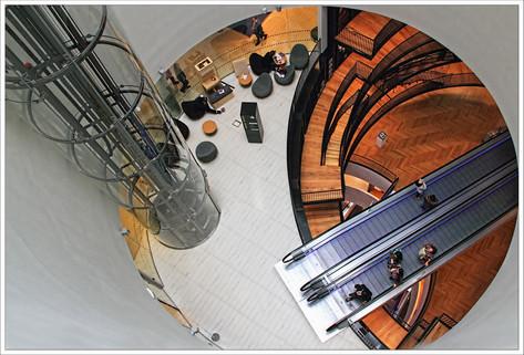 Looking Down in Birmingham Library.jpg