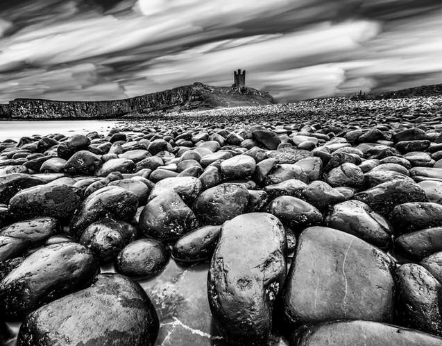 3rd - Dunstanburgh Beach by Derrick Holliday