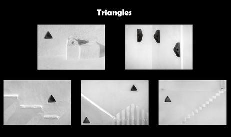 Triangles by Sheila Haycox