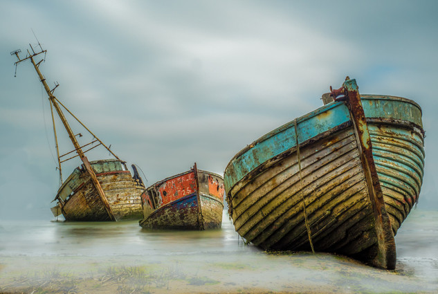 At Pin Mill by Derrick Holliday