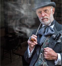 Smoking Gent