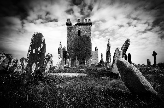 Templetown Old Church by John Wickett