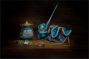 A Study in Turquoise by Sheila Haycox