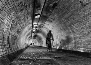 No Cycling by Ian Bateman