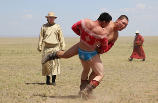 Nadaam games Mongolia