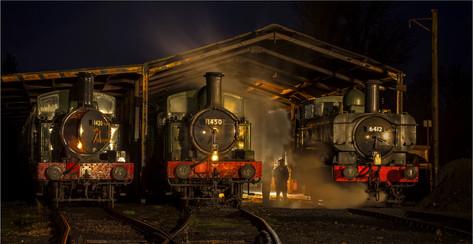 Three Engines by Christine Chittock