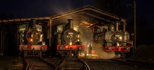 1st Three Engines by Christine Chittock