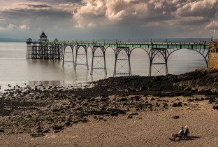 Watching the Pier by Ian Bateman