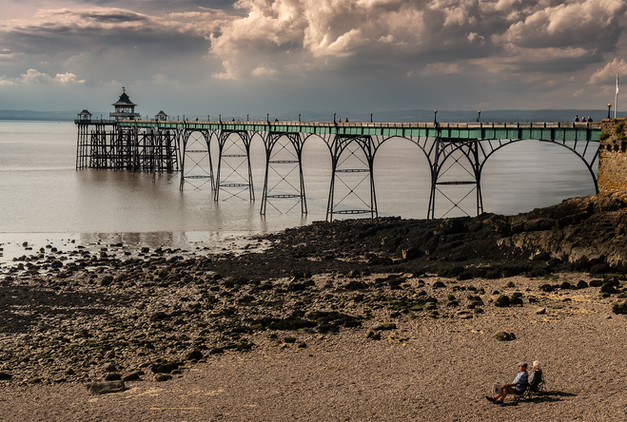 Watching the Pier by Ian Bateman